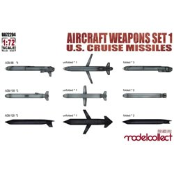 MODELCOLLECT UA72204 1/72 Aircraft weapons set 1 U.S.cruise missiles