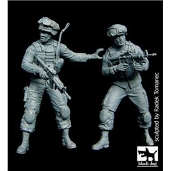 BLACK DOG F35080 1/35 US Soldiers special group team