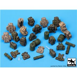 BLACK DOG T35055 1/35 German Bundeswehr equipment accessories set