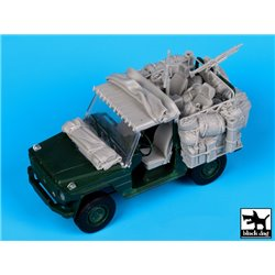 BLACK DOG T35058 1/35 Mercedes Wolf Afghanistan accessories set