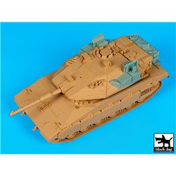 BLACK DOG T35129 1/35 Merkava IV Trophy sys. + basket accessories set