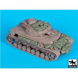 BLACK DOG T35159 1/35 Pz. Kpfw IV F1 accessories set