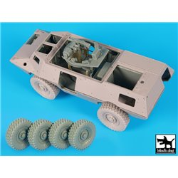BLACK DOG T35178 1/35 M1117 Gurdian interior + wheels accessories set