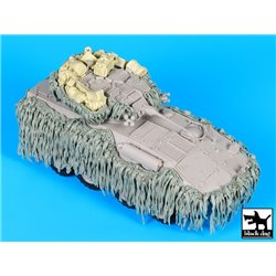 BLACK DOG T35192 1/35 Australian ASLAV Hessian Tape accessories set