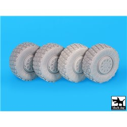 BLACK DOG T35195 1/35 Fennek Wheels accessories set