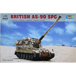 TRUMPETER 07221 1/72 British AS-90 SPG