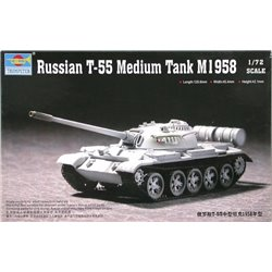 TRUMPETER 07282 1/72 Russian T-55 Medium Tank M1958