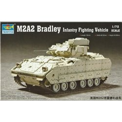 TRUMPETER 07296 1/72 M2A2 Bradley Infantry Fighting Vehicle