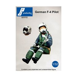 PJ Production 321112 1/32 Pilote de F-4 allemand assis