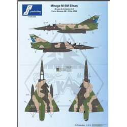 PJ Production PJDEC008 1/72 Mirage Elkan