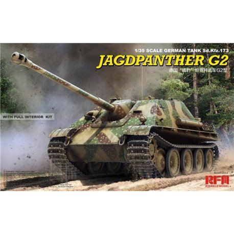 RYE FIELD MODEL RM-5022 1/35 Jagdpanther G2 with full int & work track links