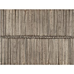 "NOCH 56664 3D Cardboard Sheet ""Timber Wall"" 25x12.5cm"