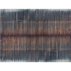 "NOCH 56665 3D Cardboard Sheet ""Timber Wall"" 25x12.5cm"