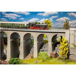 FALLER 120465 HO 1/87 Coffret viaduc, 2 voies - Viaduct set, two-track