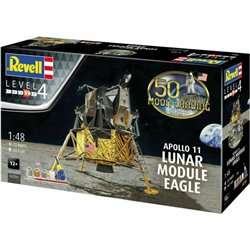 "REVELL 03701 1/48 Apollo 11 Lunar Module ""Eagle"" 50th Anniversary Moon Landing"
