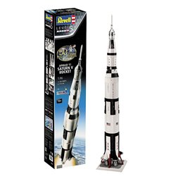 REVELL 03704 1/96 Apollo 11 Saturn V Rocket 50th Moon Landing