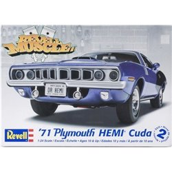 REVELL 85-2943 1/24 '71 Plymouth Hemi Cuda Revell Muscle