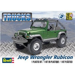 REVELL 85-4053 1/25 Jeep Wrangler Rubicon Trucks
