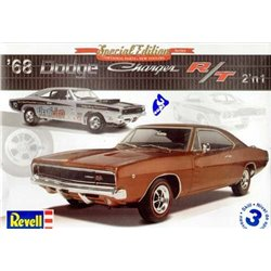 REVELL 85-4202 1/25 '68 Dodge Charger R/T 2 'n 1 Special Edition