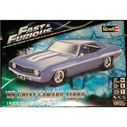 REVELL 85-4314 1/25 '69 Chevy Camaro Yenko Fast & the Furious