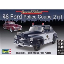REVELL 85-4318 1/25 '48 Ford Police Coupe 2 'n 1 Special Edition
