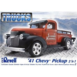 REVELL 85-7202 1/25 '41 Chevy Pickup 2 'n 1 Trucks