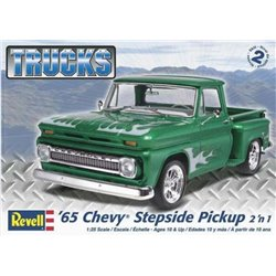 REVELL 85-7210 1/25 '65 Chevy Stepside Pickup 2 'n 1 Trucks