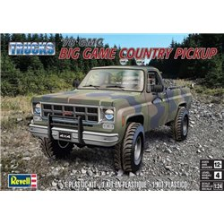 REVELL 85-7226 1/24 78 GMC BIG GAME Country Pickup Trucks