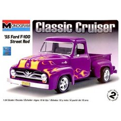 MONOGRAM 85-0880 1/24 '55 Ford F-100 Street Rod Classic Cruiser