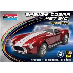 MONOGRAM 85-4011 1/24 Shelby Cobra 427 S/C Dream Rides