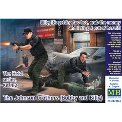 MASTERBOX MB24065 1/24 The Heist series, Kit №2 The Johnson brothers