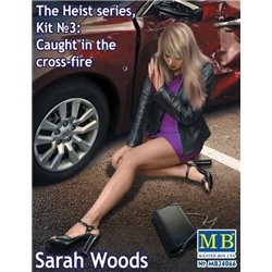 MASTERBOX MB24066 1/24 The Heist series, Kit №3 Sarah Wood