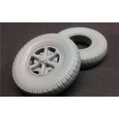 PANZER ART RE35-582 1/35 Lancia 3Ro Road wheels (civillian pattern)
