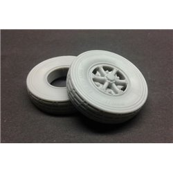 PANZER ART RE35-583 1/35 Lancia 3Ro Road wheels (Libia crosscountry pattern)
