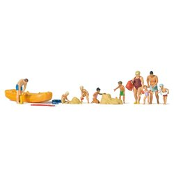 PREISER 10692 HO 1/87 Amusement au Lac – Leisure time at the lake