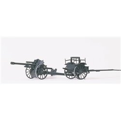 PREISER 16527 HO 1/87 Light Field Howitzer 10 5 Cm