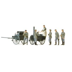 PREISER 16594 HO 1/87 Field Kitchen German Reich 1939-1945