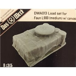 DAS WERK DWA013 1/35 Load Set For Faun L900 Medium W/Canvas