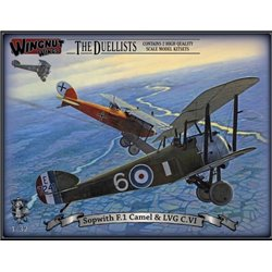 WINGNUT WINGS 32803 1/32 Sopwith F.1 Camel and LVG C.VI The Duellists
