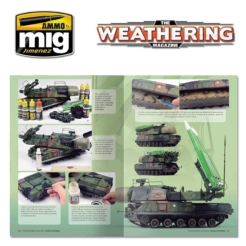 AMMO OF MIG A.MIG-4272 The Weathering Magazine 23 Die Cast French Book
