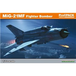 EDUARD 70142 1/72 MiG-21MF Fighter-Bomber ProfiPack Edition