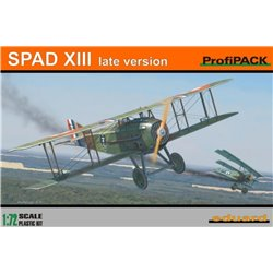 EDUARD 7053 1/72 Spad XIII late version ProfiPACK