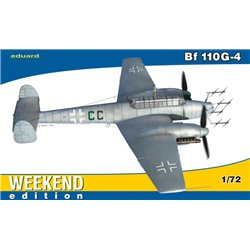 EDUARD 7422 1/72 Bf 110G-4 Weekend edition
