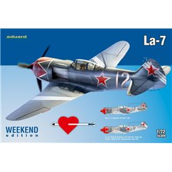 EDUARD 7425 1/72 La-7 Weekend Edition