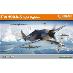 EDUARD 82143 1/48 Fw 190A-5 light fighter - ProfiPack Edition