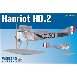 EDUARD 8413 1/48 Hanriot HD.2 floatplane Weekend edition