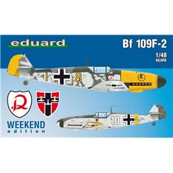 EDUARD 84147 1/48 Bf 109F-2 Weekend Edition