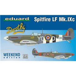EDUARD 84151 1/48 Spitfire LF Mk.IXc Weekend edition