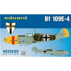 EDUARD 84153 1/48 Messerschmitt Bf 109E-4 Weekend edition