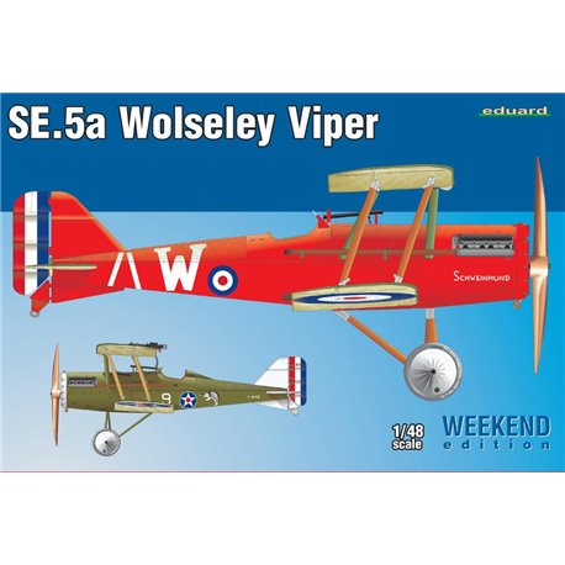 EDUARD 8454 1/48 Royal Aircraft Factory S.E.5a w/ Wolseley Viper engine